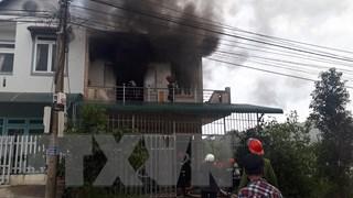 Đà Lạt: Cháy nhà giữa khu dân cư, 2 thiếu niên kịp thoát ra ngoài