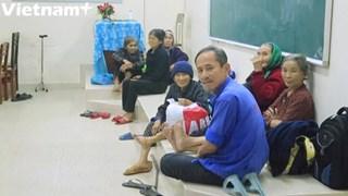 [Video] Hàng trăm nghìn người dân miền Trung sơ tán tránh bão số 9