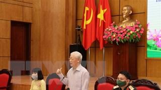 [Video] Tổng Bí thư Nguyễn Phú Trọng tiếp xúc cử tri tại Hà Nội
