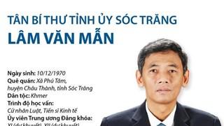 [Infographics] Tân Bí thư Tỉnh ủy Sóc Trăng Lâm Văn Mẫn