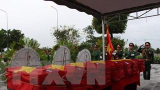 Hậu Giang, Bình Thuận: Tổ chức truy điệu, cải táng hài cốt các liệt sỹ