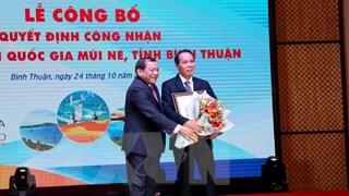 Bình Thuận: Công bố quyết định công nhận Khu du lịch quốc gia Mũi Né