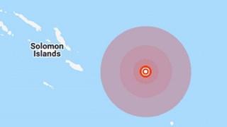 Động đất mạnh 5,7 độ rung chuyển khu vực ngoài khơi quần đảo Solomon