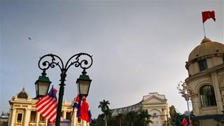 Hà Nội chỉnh trang đường phố trước Hội nghị thượng đỉnh Mỹ-Triều