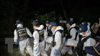[Video] Thi thể Thị trưởng Seoul được đưa tới bệnh viện trong đêm