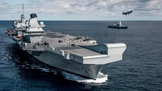 Siêu tàu sân bay của Anh sắp có màn phô trương sức mạnh ở Biển Đông