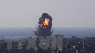 [Video] Cận cảnh lính Israel nã pháo 155mm vào lãnh thổ Palestine