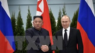 [Video] Lãnh đạo Nga và Triều Tiên thảo luận tình hình khu vực