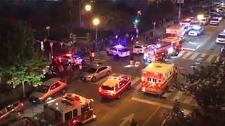 [Video] Hình ảnh đầu tiên tại hiện trường vụ xả súng gần Nhà Trắng