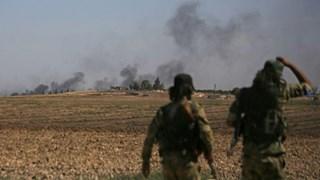 Quân Thổ Nhĩ Kỳ giao tranh dữ dội với người Kurd ở Tal Abyad, Syria