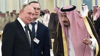 Saudi Arabia trình diễn sai quốc ca Nga trong lễ đón Tổng thống Putin