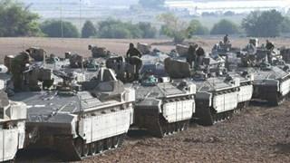 [Video] Xe tăng Israel ở gần dải Gaza sau thỏa thuận ngừng bắn