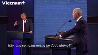 Ông J. Biden yêu cầu Tổng thống D.Trump dừng ngắt lời khi tranh luận