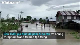 [Video] Sức tàn phá khủng khiếp của bão Molave ở Philippines