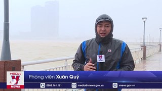 [Video] Bão số 9 gây mưa và gió giật mạnh tại Đà Nẵng