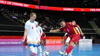 Cận cảnh đội tuyển Futsal Việt Nam xuất sắc giành vé vào vòng 1/8