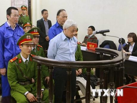 [Photo] Phiên tòa phúc thẩm tuyên án Nguyễn Đức Kiên và đồng phạm