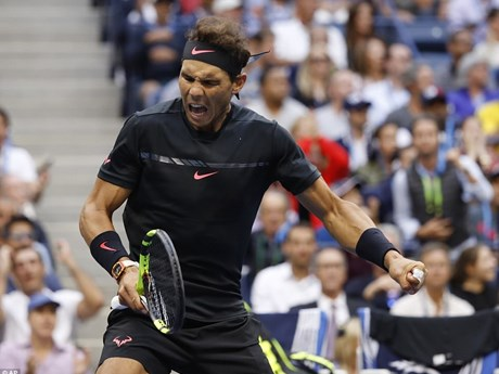 Hình ảnh đáng nhớ trong ngày Rafael Nadal đăng quang US Open