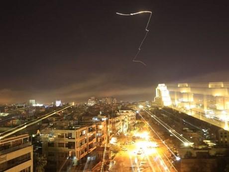 [Photo] Cận cảnh Mỹ phóng tên lửa tấn công vào đất nước Syria
