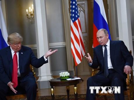 Cận cảnh cuộc gặp thượng đỉnh giữa ông Putin và ông Trump