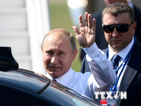 Những hình ảnh đầu tiên của Tổng thống Nga Putin tại Phần Lan