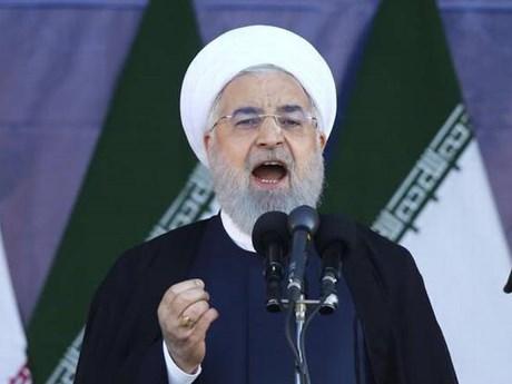 Tổng thống Iran Rouhani cáo buộc Mỹ tìm cách gây mất ổn định