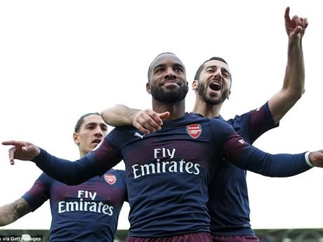 Những hình ảnh đáng nhớ trong trận Arsenal thắng hủy diệt