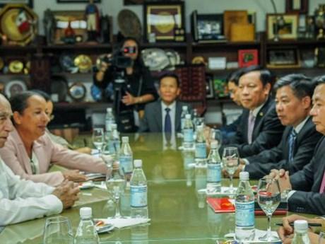 Quan hệ hợp tác toàn diện Việt Nam-Cuba phát triển mạnh mẽ