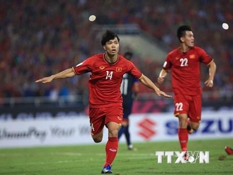 [Photo] Hạ Philippines, Việt Nam lần thứ 3 vào chung kết AFF Cup