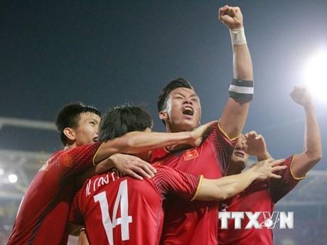 Nhìn lại hình ảnh đáng nhớ ở chiến thắng đưa Việt Nam vào chung kết