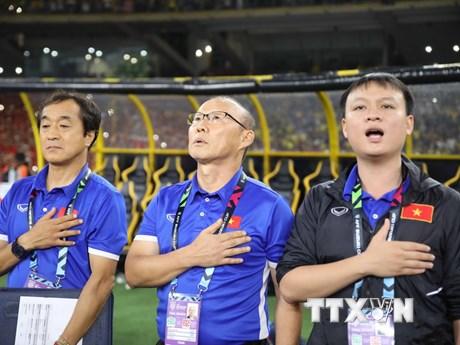 HLV Park Hang-seo được vinh danh trước chung kết lượt về AFF Cup