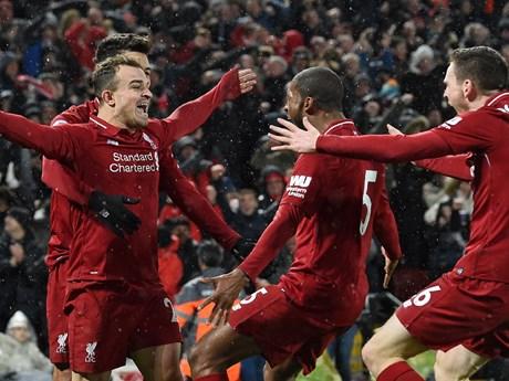 Cận cảnh Liverpool đè bẹp Manchester United tại thánh địa Anfield