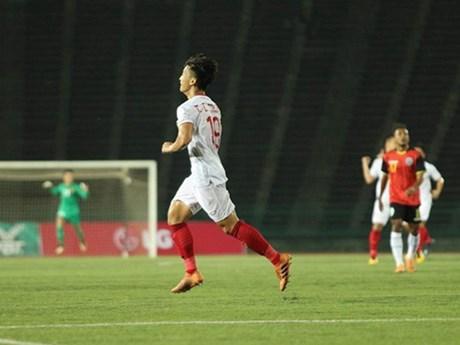 Cận cảnh U22 Việt Nam hạ U23 Timor Leste, sớm giành vé bán kết