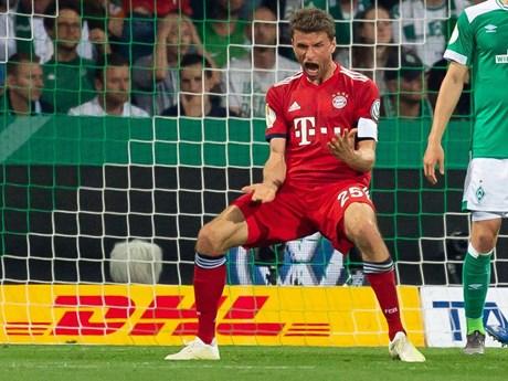Bayern Munich đối đầu RB Leipzig ở chung kết Cúp Quốc gia | Bóng đá | Vietnam+ (VietnamPlus)