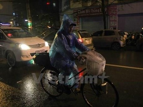 Đêm 4/5, các tỉnh Bắc Bộ và Thanh Hóa có mưa dông diện rộng | Môi trường | Vietnam+ (VietnamPlus)
