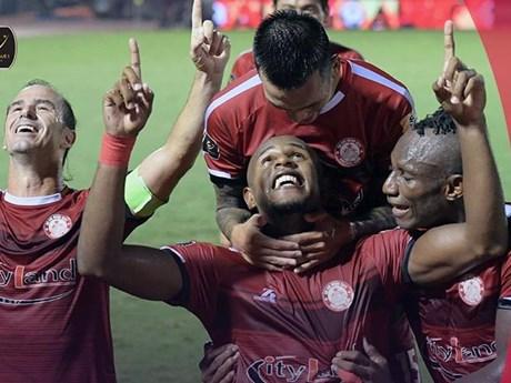 Vòng 8 V-League: Ngôi đầu đổi chủ, Thanh Hóa có chiến thắng đầu tay | Bóng đá | Vietnam+ (VietnamPlus)