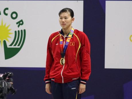 Trực tiếp SEA Games 30 ngày 6/12: Ánh Viên giành HCV 200m tự do | Thể thao | Vietnam+ (VietnamPlus)