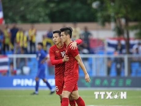 Công bố đội hình ra sân của U22 Việt Nam ở trận gặp U22 Campuchia | Bóng đá | Vietnam+ (VietnamPlus)