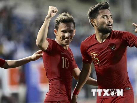 U22 Indonesia vào chung kết sau 120 phút kịch tính trước U22 Myanmar | Bóng đá | Vietnam+ (VietnamPlus)