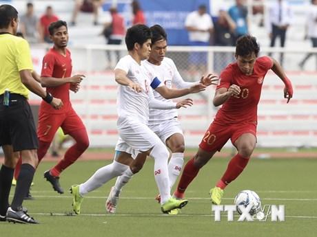 U22 Myanmar - U22 Indonesia 2-2: Quyết đấu ở hiệp phụ | Bóng đá | Vietnam+ (VietnamPlus)