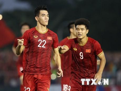 Chung kết U22 Việt Nam-U22 Indonesia: Tiến Linh, Đức Chinh đá chính | Bóng đá | Vietnam+ (VietnamPlus)