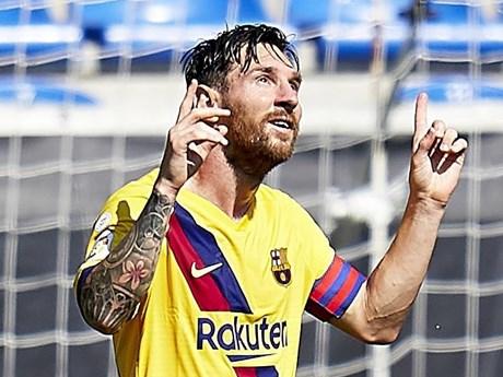 Lionel Messi giành danh hiệu Pichichi, đi vào lịch sử La Liga | Bóng đá | Vietnam+ (VietnamPlus)