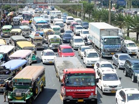 Phillippines xây đảo nhân tạo để giải quyết nạn tắc đường tại Manila | ASEAN | Vietnam+ (VietnamPlus)