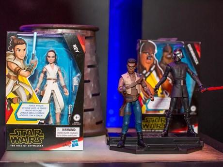 Các nhà sản xuất đồ chơi nhanh chóng 'ăn theo' phần 9 của 'Star Wars' | Điện ảnh | Vietnam+ (VietnamPlus)
