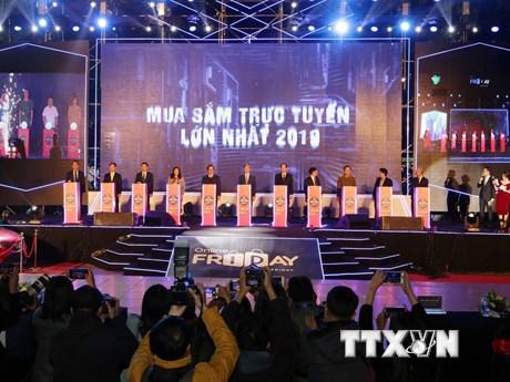 Lễ Kích hoạt Ngày mua sắm trực tuyến lớn nhất 2019  | Công nghệ | Vietnam+ (VietnamPlus)