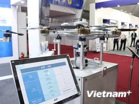 Ấn tượng triển lãm máy bay không người lái tại Hàn Quốc | Công nghệ | Vietnam+ (VietnamPlus)