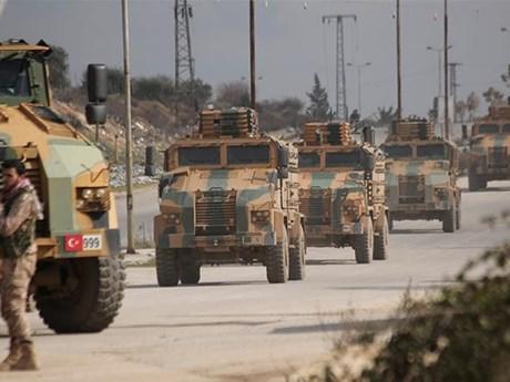 Hàng chục binh sỹ Thổ Nhĩ Kỳ thiệt mạng do bị không kích tại Syria | Trung Đông | Vietnam+ (VietnamPlus)