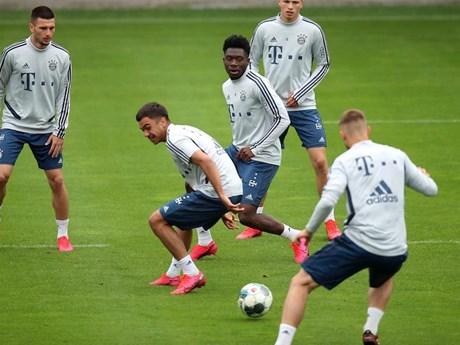 Các cầu thủ Bayern Munich sẵn sàng đón Bundesliga trở lại