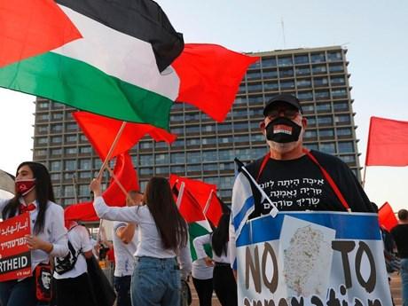 Israel: Biểu tình quy mô lớn phản đối kế hoạch sáp nhập khu Bờ Tây
