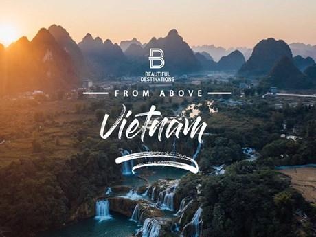 Chiêm ngưỡng vẻ đẹp hùng vĩ của đất nước Việt Nam từ trên cao | Du lịch | Vietnam+ (VietnamPlus)